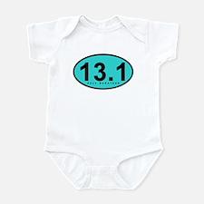 Half Marathon 13.1 Miles Infant Bodysuit