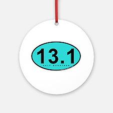 Half Marathon 13.1 Miles Ornament (Round)