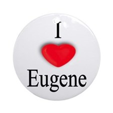 Eugene Ornament (Round)