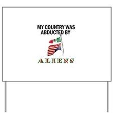 TAKE BACK YOUR COUNTRY Yard Sign