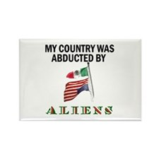 TAKE BACK YOUR COUNTRY Rectangle Magnet