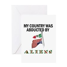 TAKE BACK YOUR COUNTRY Greeting Card