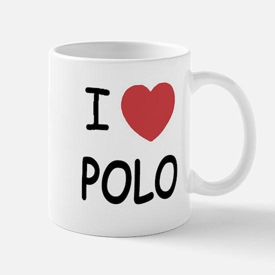 I heart polo Mug