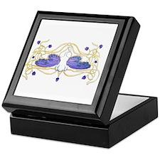 Flitter Watercolor Keepsake Box