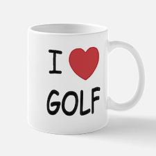 I heart golf Mug