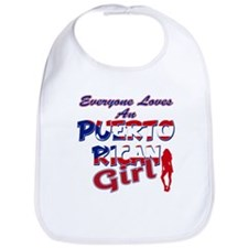 Puerto rican girl Bib