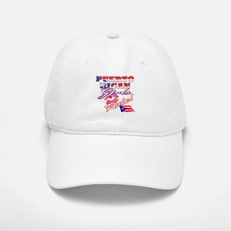Puerto rican girl Baseball Baseball Cap