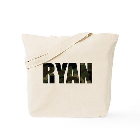 Camo Ryan Tote Bag