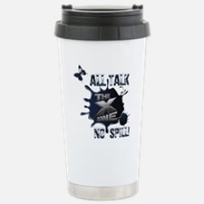 X ZONE - All Talk, No Spill Stainless Steel Travel
