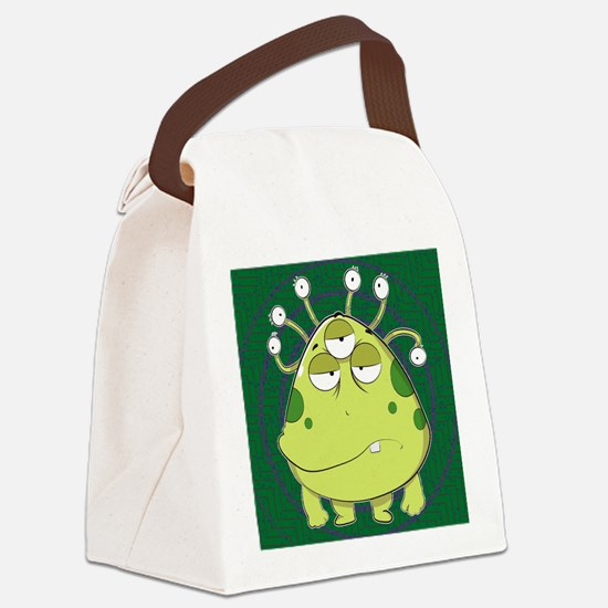 Funny Fantasy and scifi and anime Canvas Lunch Bag