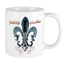 Oilfield Wife blue Mug