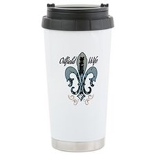 oilfield wife Travel Coffee Mug