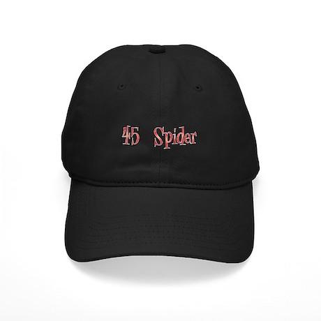 45 Spider Black Cap