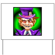 Cute Mad hatter Yard Sign