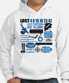 Lost Quotes and Symbols Hoodie