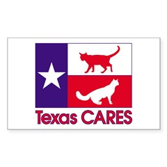 TexasCARESPocket Sticker