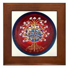 A Magical Tree of Life Framed Tile