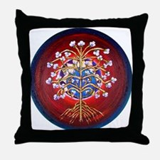 A Magical Tree of Life Throw Pillow