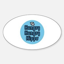 Hungry Hippo Decal