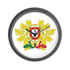 PORTUGAL-COAT OF ARMS Wall Clock