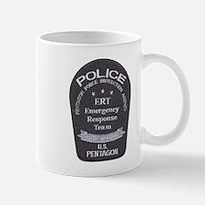 Pentagon Police ERT Mug