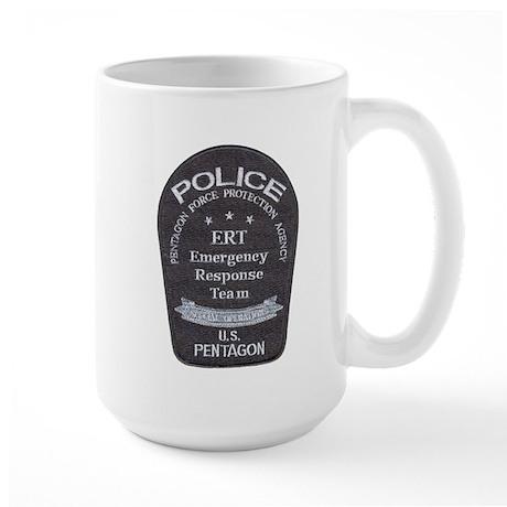 Pentagon Police ERT Large Mug