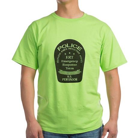 Pentagon Police ERT Green T-Shirt