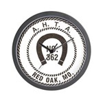 Red Oak Vigilantes Wall Clock