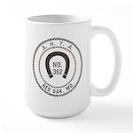 Red Oak Vigilantes Large Mug