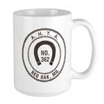 Red Oak Vigilantes Large Mug