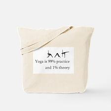 Yoga Practice Tote Bag