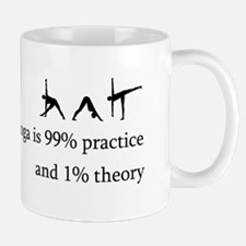 Yoga Practice Small Mugs