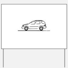 Mercedes ML Yard Sign