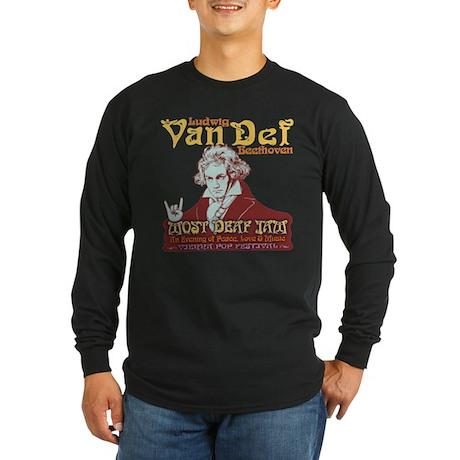 Beethoven - Van Def Long Sleeve Dark T-Shirt