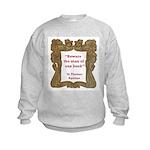 Man of One Book Kids Sweatshirt