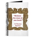Man of One Book Journal