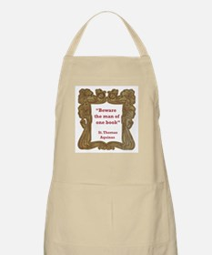 Man of One Book Apron