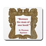 Man of One Book Mousepad