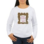 Man of One Book Women's Long Sleeve T-Shirt