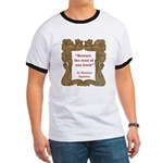 Man of One Book Ringer T