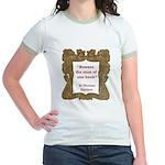Man of One Book Jr. Ringer T-Shirt