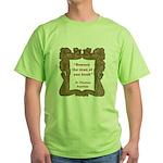 Man of One Book Green T-Shirt