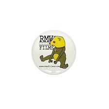 Radioactive Monkey Weasel Mini Button (10 pack)