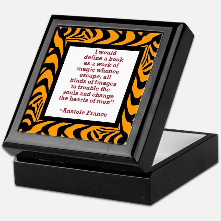 A Work of Magic Keepsake Box