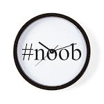 #noob Wall Clock