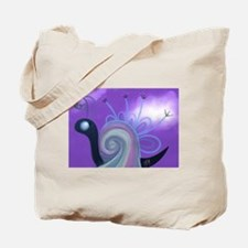 Rainbow Snail Tote Bag