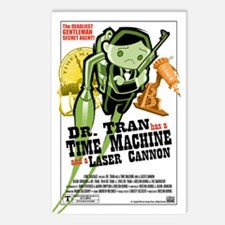 TIME MACHINE Postcards (Package of 8)
