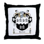 Yeates Family Coat of Arms /  Throw Pillow