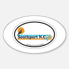 Southport NC - Beach Design Decal
