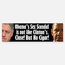 Obama Sex Scandal Bumper Bumper Sticker